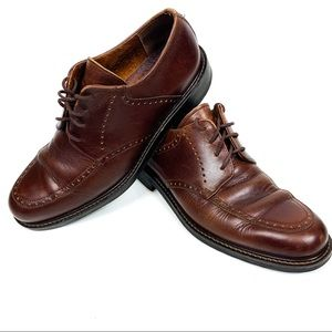 Johnston & Murphy | Brown Brogue Dress Shoes